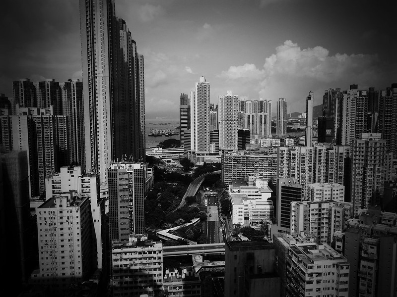 West View From Langham Place Tower, Hong Kong