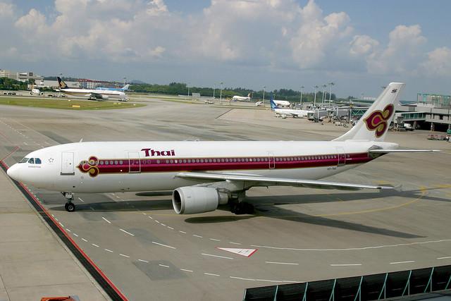HS-TAG Airbus A.300B4-605R Thai