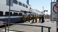 LAFD Cares For 21 Injured After Metrolink Train Crashes Into Big Rig In Sun Valley