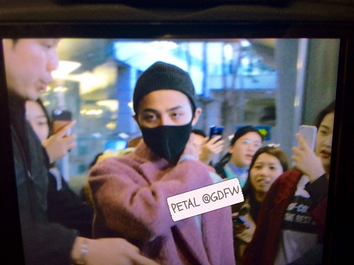Big Bang - Incheon Airport - 22mar2015 - G-Dragon - GDFW权志龙中文网 - 01
