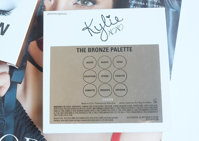 Kylie Cosmetics KYShadow The Bronze Palette6