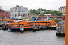 Staten Island ferry John A Noble