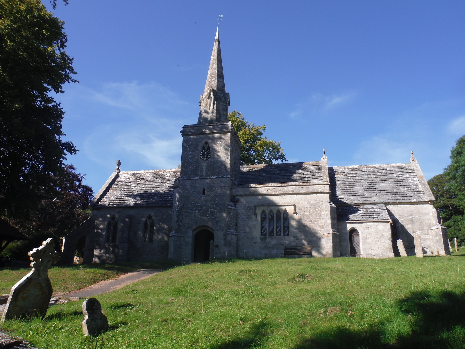 Church in Littlebredy SWC Walk 275 Dorchester South Circular or to Portesham (Extension)
