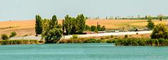 Riscani.Озеро'Малиновка'