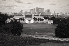 Greenwich Park & the Isle of Dogs