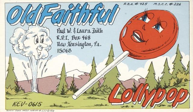 Runnin Bare Artist Series #1177: Old Faithful & Lollypop - New Kensington, Pennsylvania