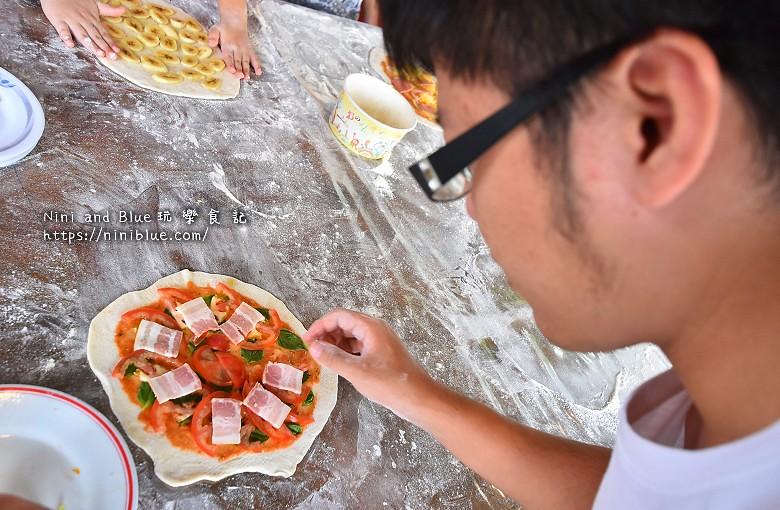 宜蘭安平冰店窯烤披薩DIY20