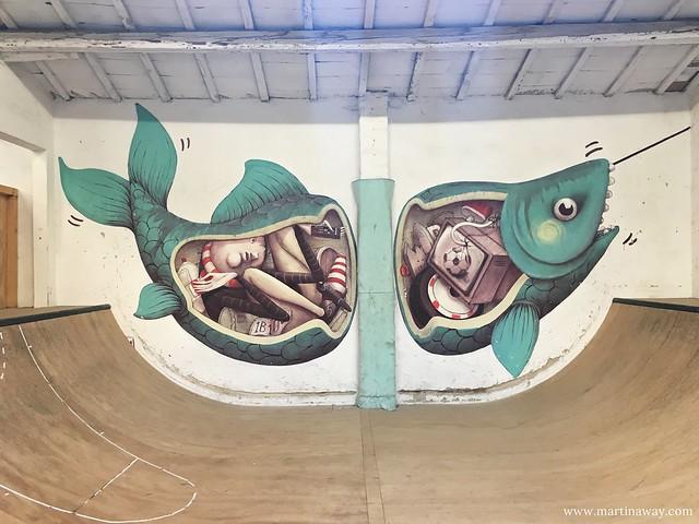 Bonobolabo - Street art by Zed