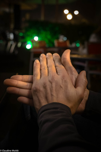 Miguel's (candid) hands, Funchal.