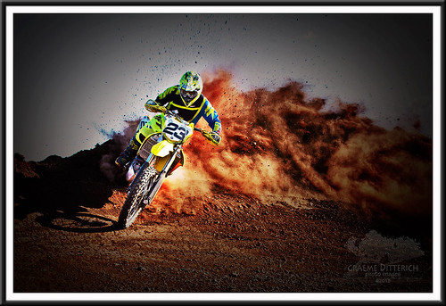 One of the local gun motocrossers