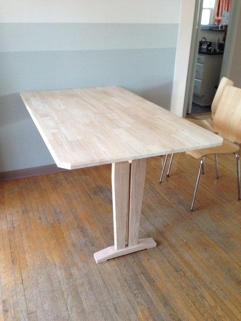 Repurposed dining room table | Flickr - Photo Sharing!