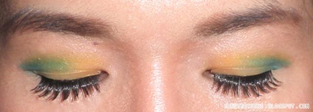 retro eye makeup for retro theme dnd