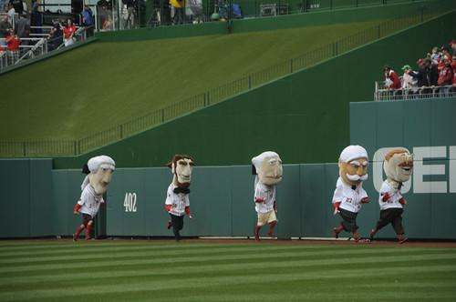 Washington Nationals Racing Presidents