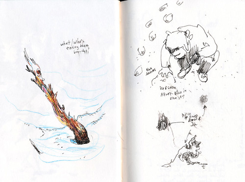 Sketching and Skiing: Kirkwood 2013