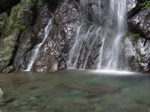 朝日滝一の滝 2011.8.6-2