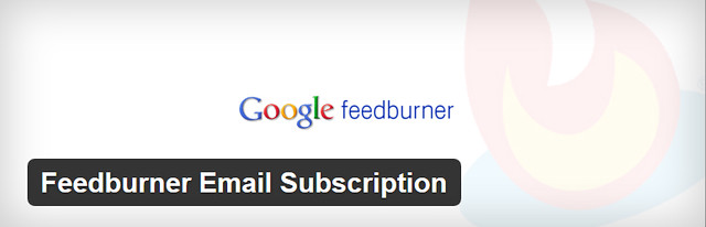FeedBurner email subscription plugin