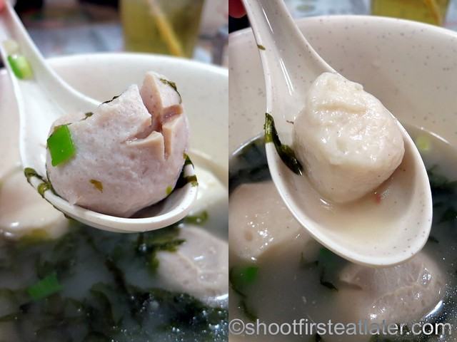 4 kinds of fish balls soup HK$40-002