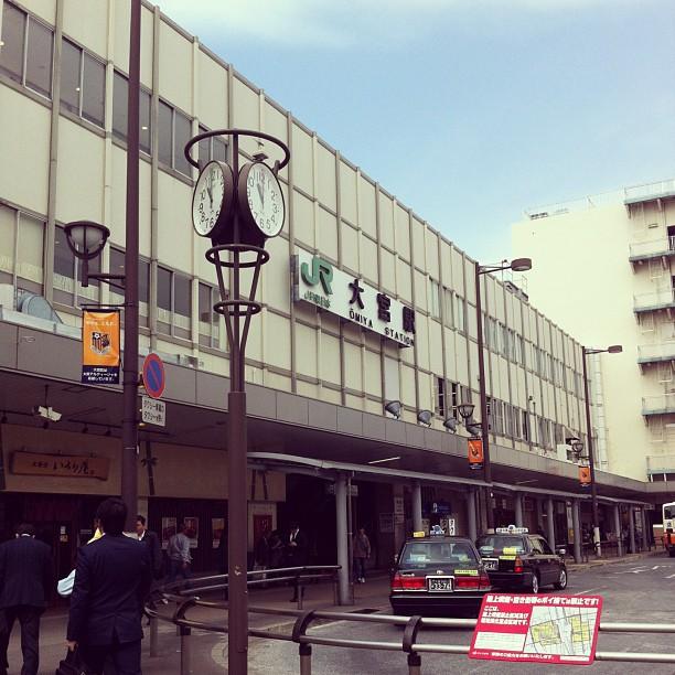 Omiya station, Saitama #