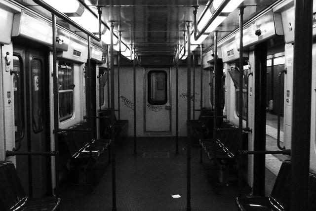 metro fantasma.