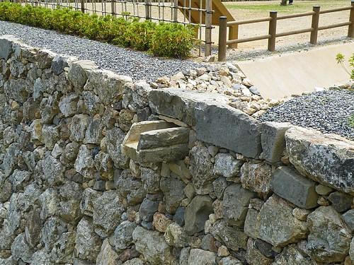 高知城の石樋