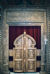 Iconostase au monastère Saint Silouane