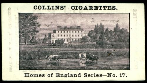 Cigarette Card - Kelham Hall