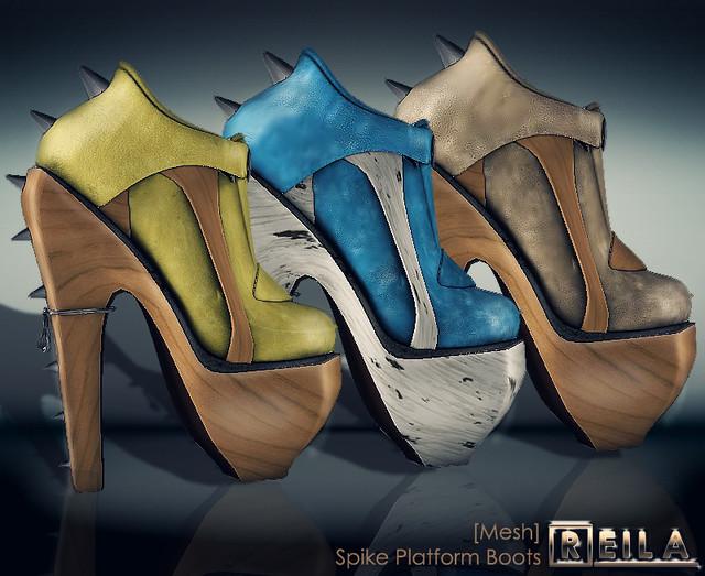 Reila - Spike Platform Boots AD