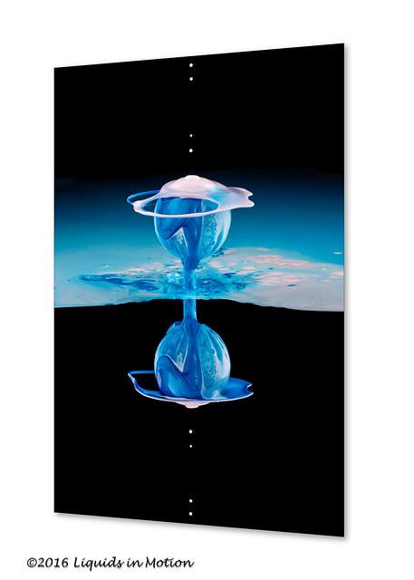 Blue Space #6003b | ©2013 - LiquidsinMotion.us.com