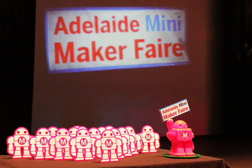 Adelaide Mini Maker Faire Awards,  photo by Jess Gunn