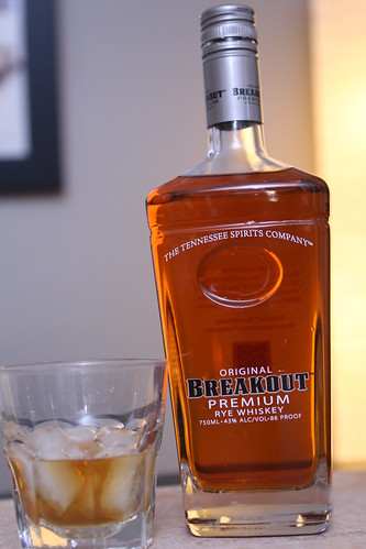 The Tennessee Spirits Company Original Breakout Premium Rye Whiskey