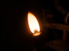 Carbid lamp