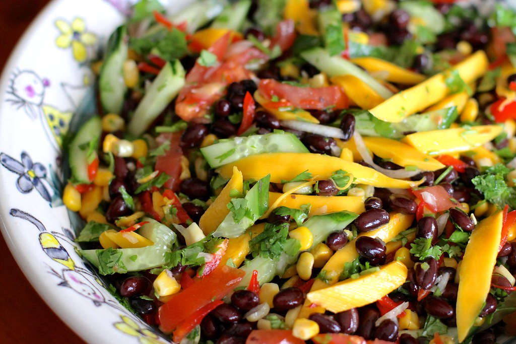 Black Bean and Mango Salad...