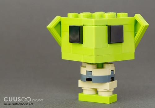 Yoda Lil'FIG by customBRICKS