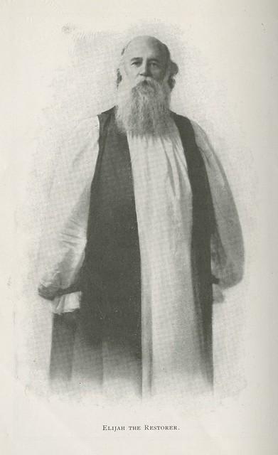 Header of John Alexander Dowie