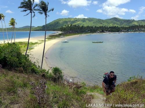 Nacpan and Calitang Twin Beaches in El Nido, Palawan