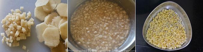 Vazhaithandu Poriyal Recipe - Step2