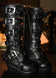 releaserain black boots