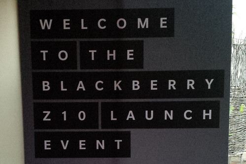 BlackBerry Z10 Launch Dallas