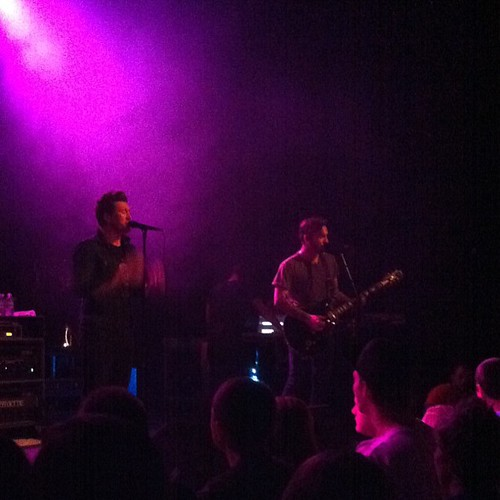 Incredible show. #anberlin