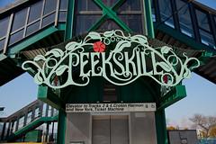 Peekskill E. Signage front