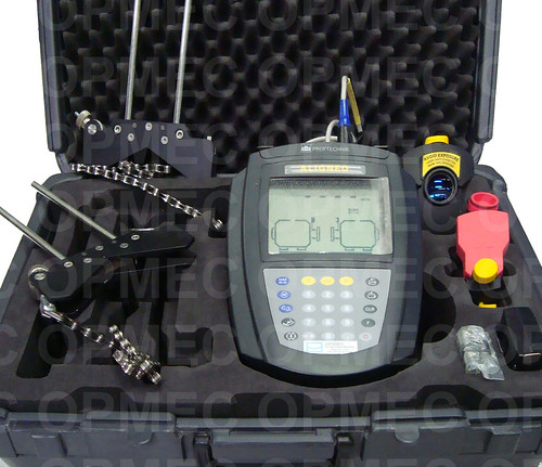 Sistema de Alinhamentos à Laser Prüftechnik modelo Aligneo