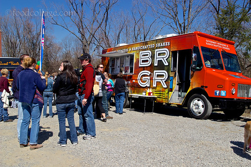 BRGR Truck at North Hills Food Truck Roundup March 2013