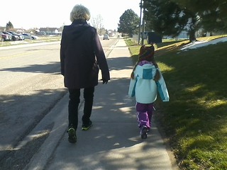 Walking with Gramma Day1