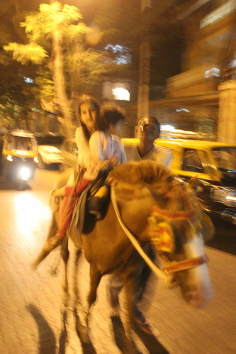 Nerjis And Marziya Horse  Ride Almeida Park Bandra by firoze shakir photographerno1