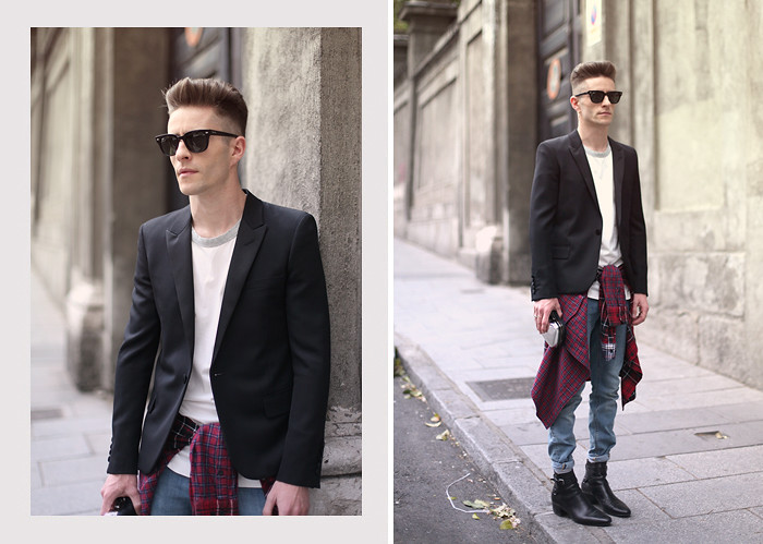 Men Fashion Blogs pelayo diaz saint laurent
