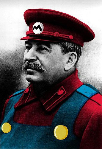 Stalin as Mario. PicHour.