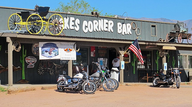 Jakes Corner Bar - Arizona Backroads