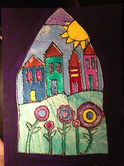 naomi.wittlin posted a photo:	Life Book 2013Made with painted tissue paper