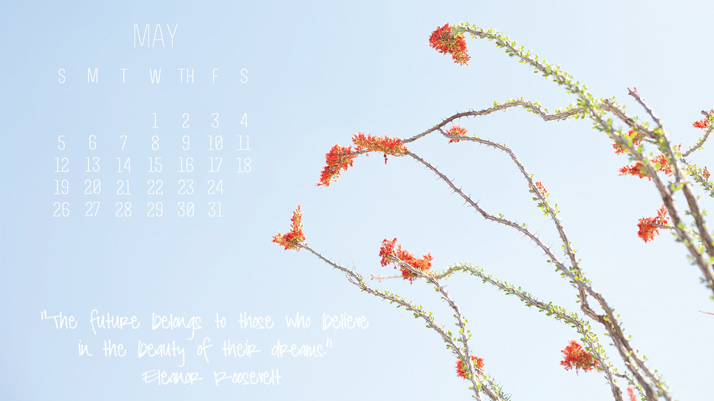 may 2013 free desktop calendar download