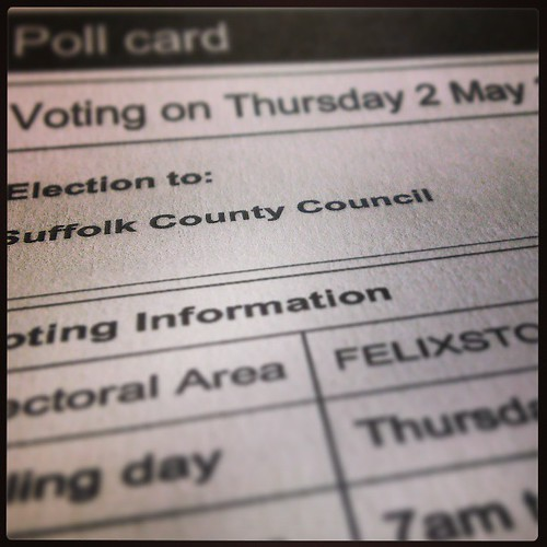 122/365 Done my civic duty. by The original SimonB